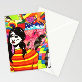 Something on my mind Stationery Cards