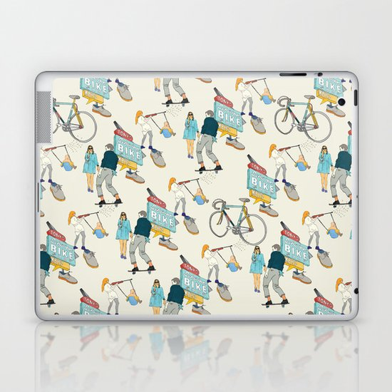 Tonys Bike Shop Laptop & iPad Skin