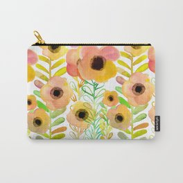 Peony field Carry-All Pouch