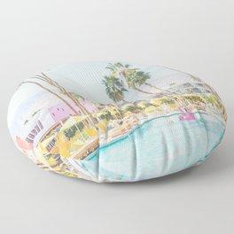 palm springs Floor Pillow