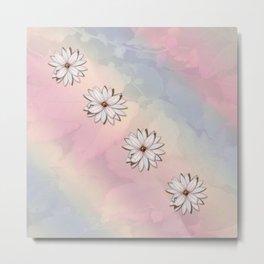 lily-white Metal Print