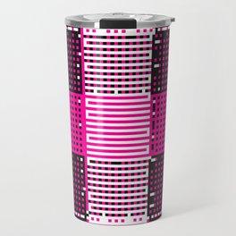 Licorice Bytes, No.14 in Black and Pink Travel Mug