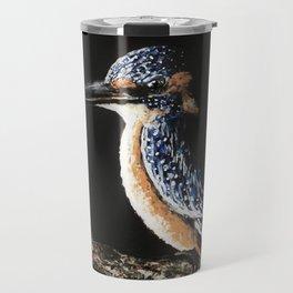 Kingfisher Painting Travel Mug