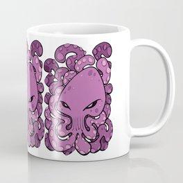 Octopus Squid Kraken Cthulhu Sea Creature - Spring Crocus Pink Coffee Mug