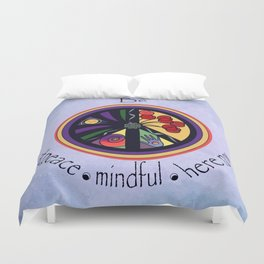 Peace Within Without Duvet Cover