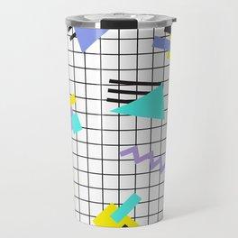 Memphis pattern 6 Travel Mug