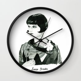 Louise Brooks Wall Clock