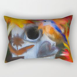 Surrounded In Fall Color Rectangular Pillow