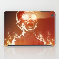 doctor iPad Cases featuring FIREEE! by Dr. Lukas Brezak