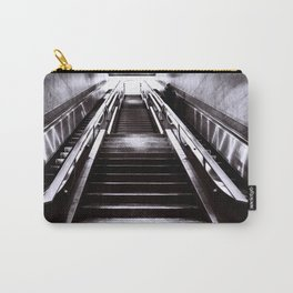 Silver Stairway Carry-All Pouch