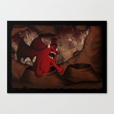 By Demons Be Driven Canvas Print