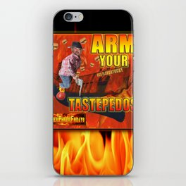 Arm Your Tastepedos on the USS Flavortucky iPhone Skin