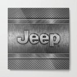 Steel Jeep Metal Print