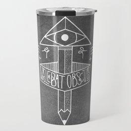 Valebat Obscuro Travel Mug