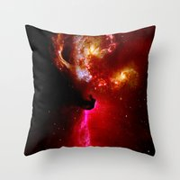 universe Throw Pillows featuring Universe by Fine2art