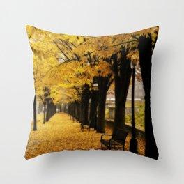 Autumn's Gold Throw Pillow