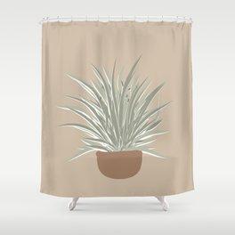 Iris plant  Shower Curtain