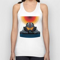 pacific rim Tank Tops featuring Pacific Rim by milanova