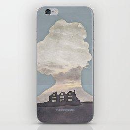 Emily Brontë Wuthering Heights - Minimalist literary design iPhone Skin