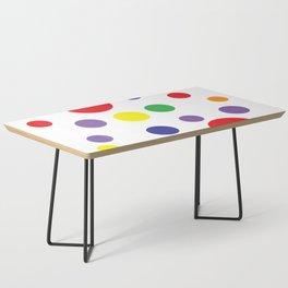 Rainbow Pop Coffee Table