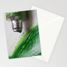Painting Green #3 Stationery Cards