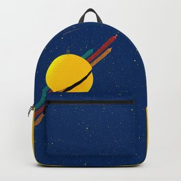 033 Rocket to the moon!!! Backpack