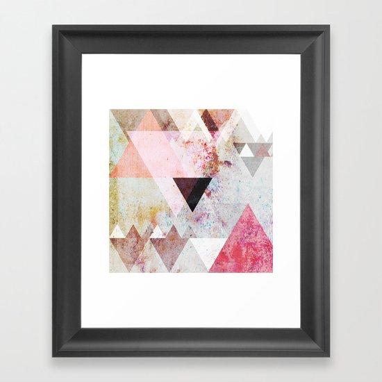 Graphic 3 Framed Art Print