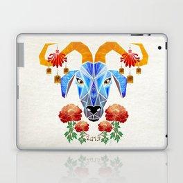 chinese goat Laptop & iPad Skin