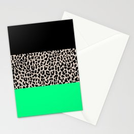 Leopard National Flag XIII Stationery Cards