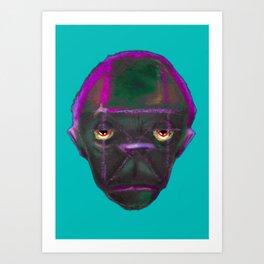 Monkey 2wo Art Print