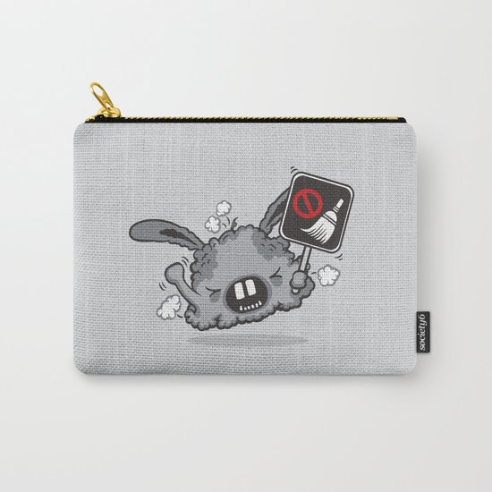 Dust Bunny Hate Clean! Carry-All Pouch