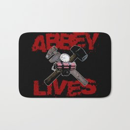 Edward Abbey Lives! Bath Mat