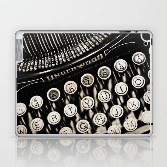 Underwood  typewriter Laptop & iPad Skin