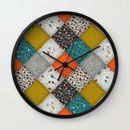 bird love diamonds Wall Clock