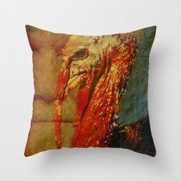 Steve Bannon: talking turkey. Throw Pillow