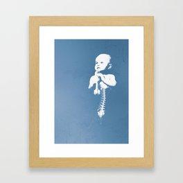 Baby boom Framed Art Print