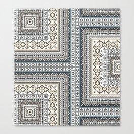 Navajo Rug Pattern Canvas Print
