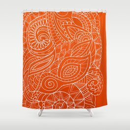 Hena II Shower Curtain