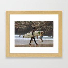 Surf  Framed Art Print