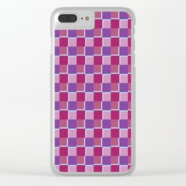 Tiles Variation I Clear iPhone Case