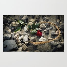 In Memoriam: Sachsenhausen Concentration Camp, Oranienburg, Germany Rug