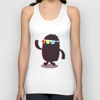 monster Tank Tops featuring MONSTER 3d by Monster Riot