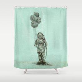 Balloon Fish Shower Curtain