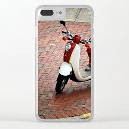 Vespa Clear iPhone Case