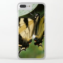 Old World Swallowtail Clear iPhone Case