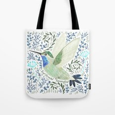 Blue-Throated Hummingbird Tote Bag