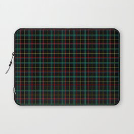 Red and green plaid Laptop Sleeve