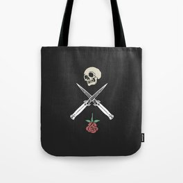 Skull & Rose Tote Bag