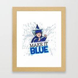"Merryweather ""Make It Blue"" / Sleeping Beauty Framed Art Print"