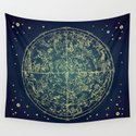 Zodiac Star Map by paperboundlove